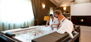Romantic Emotions In The Royal Suite